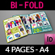 Kids Fashion Products Catalog Bi-Fold Brochure Template - GraphicRiver Item for Sale