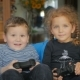 Cute Boy And Girl Playing a Videogame - VideoHive Item for Sale