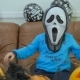 Boyin Terrible Mask Try To Scary On Halloween - VideoHive Item for Sale