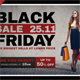 Black Friday Postcard Template V04 - GraphicRiver Item for Sale