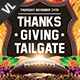 Thanksgiving Tailgate V01 - GraphicRiver Item for Sale