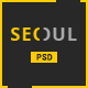 Seoul - Personal Resume PSD Template - ThemeForest Item for Sale