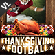 Thanksgiving Football V01 - GraphicRiver Item for Sale