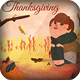 4 Thanksgiving Cards/Flyers - GraphicRiver Item for Sale