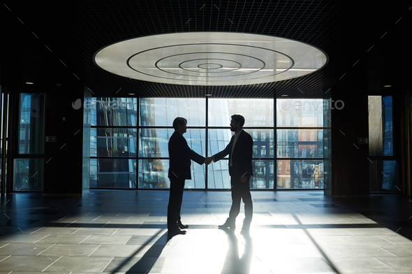 Handshake after agreement - Stock Photo - Images