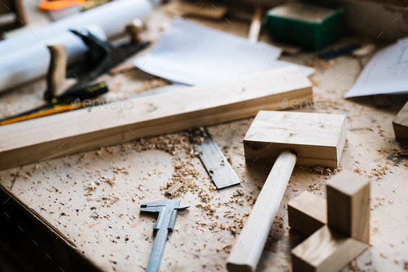 Woodworking tools - Stock Photo - Images