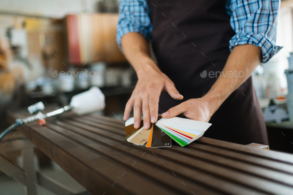 Work of craftsman - Stock Photo - Images