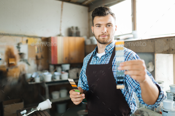 Working craftsman - Stock Photo - Images