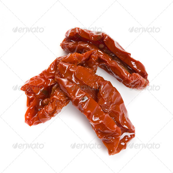 dried tomatoes - Stock Photo - Images