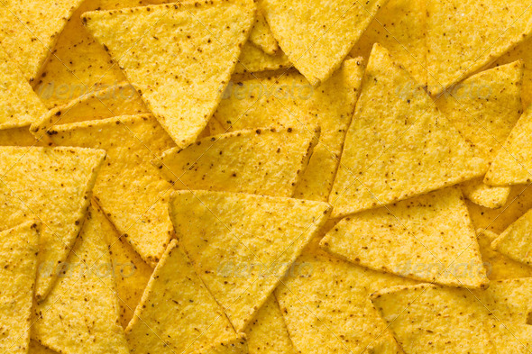 the nachos chips background - Stock Photo - Images