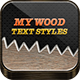 My Wood Styles - GraphicRiver Item for Sale