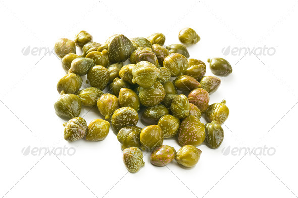 green capers - Stock Photo - Images