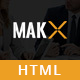 MAKX - Corporate HTML Template Nulled