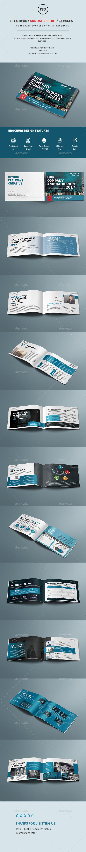 A5 Company Annual Report Brochure - Corporate Brochures