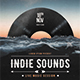 Indie Sounds Flyer Template - GraphicRiver Item for Sale