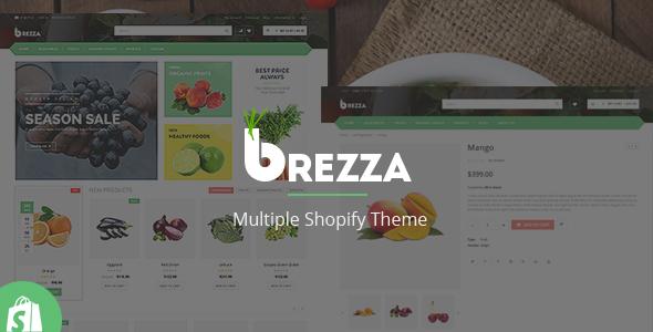 Brezza – Responsive Shopify Theme