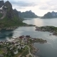 Lofoten Archipelago Islands Aerial Footage - VideoHive Item for Sale