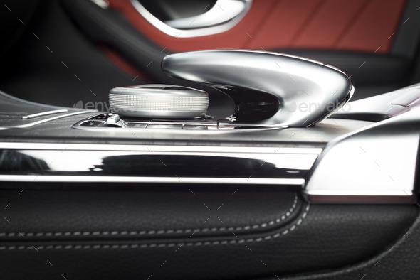 Modern Sport Car Interior - Stock Photo - Images