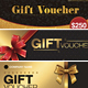 Gift Voucher Set - GraphicRiver Item for Sale