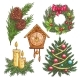 Hand Drawn Christmas Decorative Elements - GraphicRiver Item for Sale