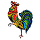 Rooster Symbol - GraphicRiver Item for Sale