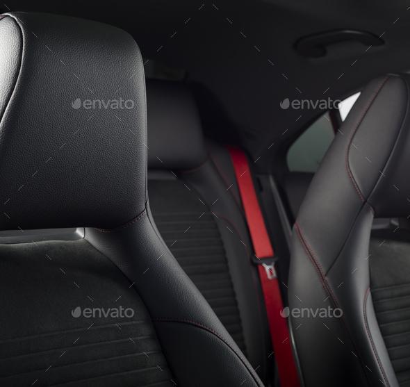 Sport Car Interior - Stock Photo - Images
