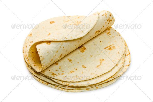 flour tortillas - Stock Photo - Images