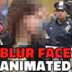 Animated Blur Face in Photo with Pixelated Effect Photoshop Action - GraphicRiver Item for Sale