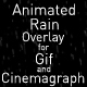 Animated Rain Overlay - GraphicRiver Item for Sale