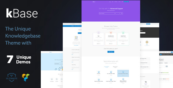 Knowledge Base & Help Desk WordPress Theme – kBase