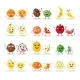 Cartoon Fruit Characters Isolated - GraphicRiver Item for Sale