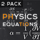 Physics Equations - Thermodynamics - VideoHive Item for Sale