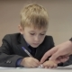 Teacher Help Boy Write - VideoHive Item for Sale