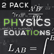 Physics Equations - Optics - VideoHive Item for Sale
