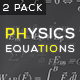Physics Equations - Mechanics - VideoHive Item for Sale