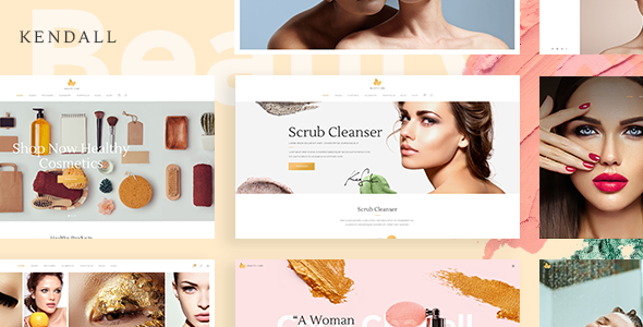 Kendall – A Stylish Theme for Spa, Hair & Beauty Salons