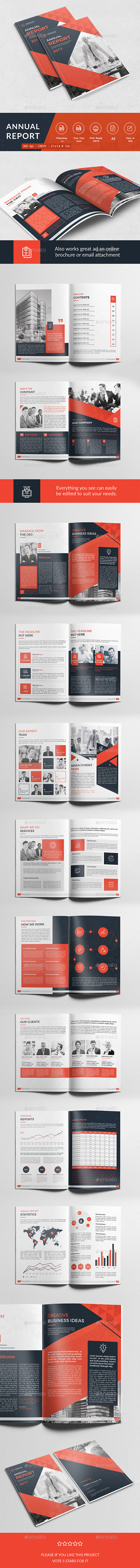 A5 Annual Report - Corporate Brochures