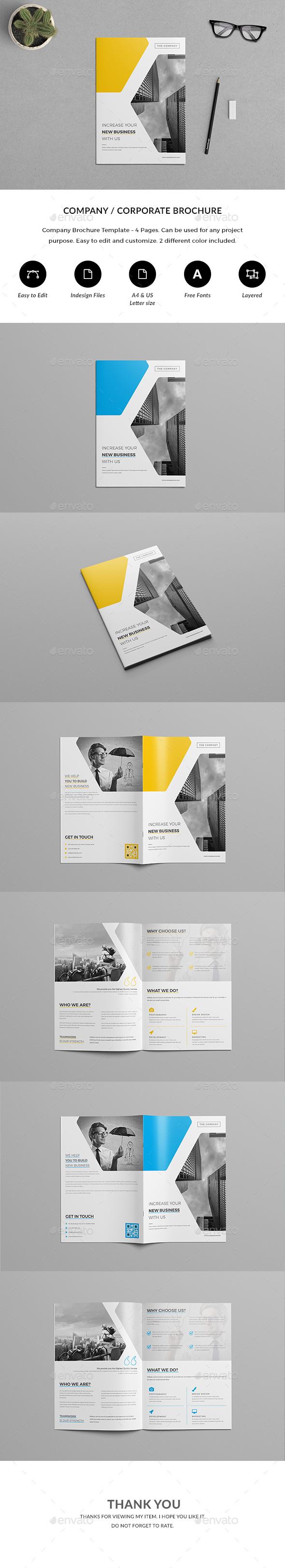 4 Page Brochure - Corporate Brochures