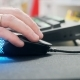Hand And Computer Mouse With Multicolored Lights. . - VideoHive Item for Sale