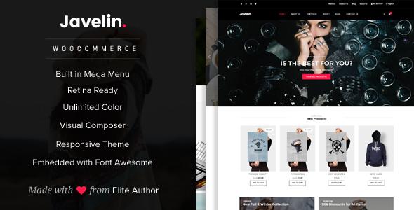 Javelin – Woocommerce WordPress Theme