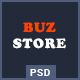 Buzstore - Fashion/Clothing eCommerce PSD Template