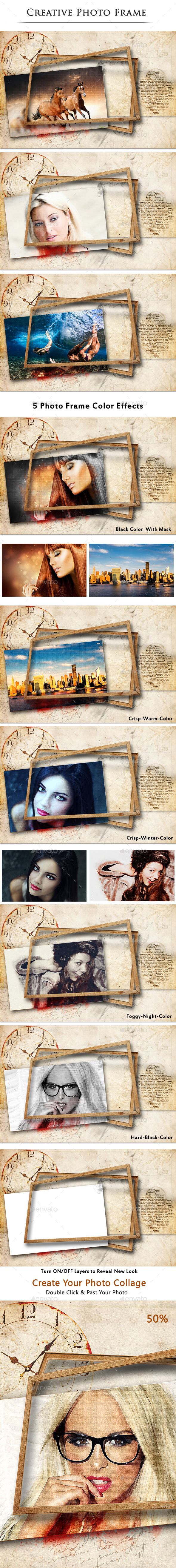 Creative Photo Frame - Photo Templates Graphics
