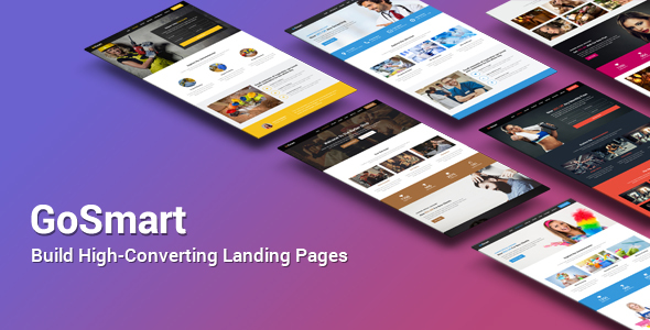 GoSmart High-Converting Landing Page HTML Template