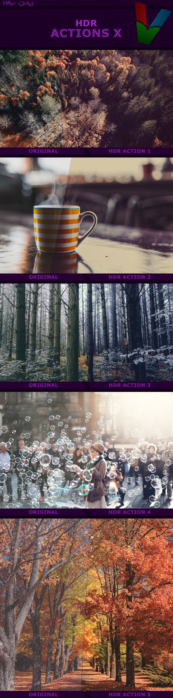HDR Actions X - Photo Effects Actions