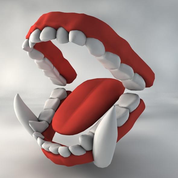 Teeth & Gums - Monster Adult - 3DOcean Item for Sale