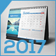 Desk Calendar 2017 v.01 - GraphicRiver Item for Sale