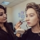Make Up Artist Doing Professional Makeup Of Young Woman In Beauty Studio - VideoHive Item for Sale