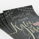 Chalkboard Wedding Invitation - GraphicRiver Item for Sale