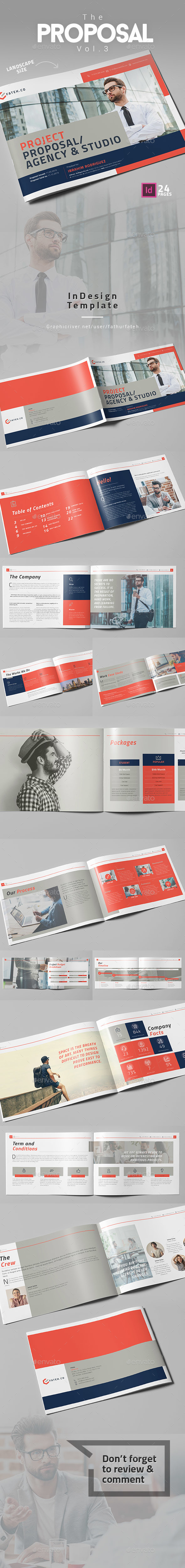 The Proposal Vol.3 - Landscape - Corporate Brochures