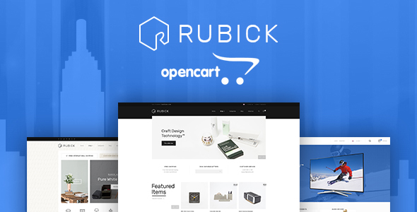 Lexus Rubick - Advanced Opencart theme